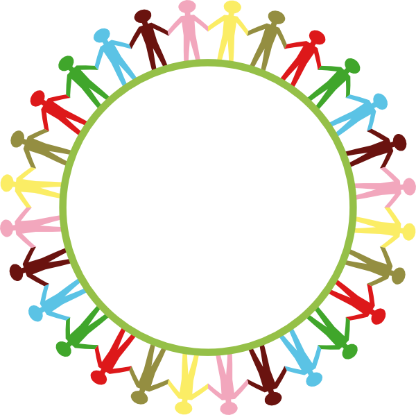 Circle Of People Holding Hands Png - People Around Circle Holding Hands Clip Art at PNGio - vector ...