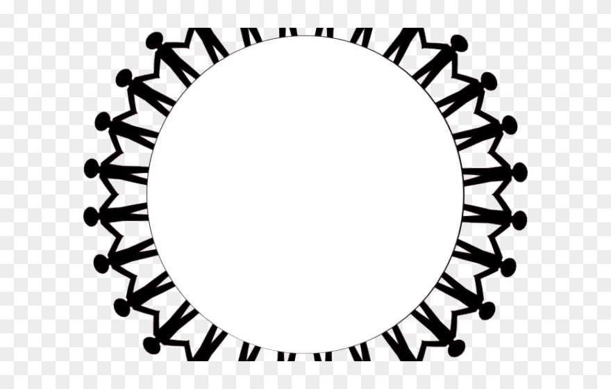 Circle Of People Holding Hands Png - People Clipart Circle - People Holding Hands Around - Png Download ...