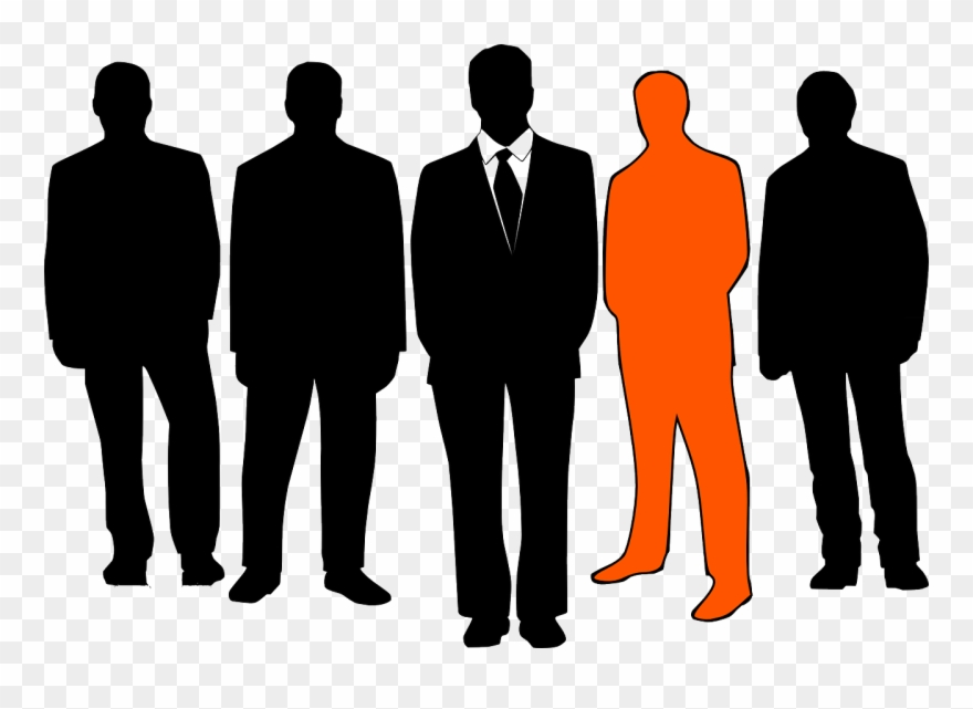 Group Of People Transparent - People Clipart Silhouette Transparent - Group Of People - Png ...