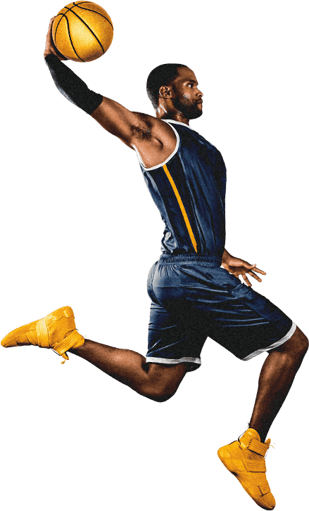 Basketball Player Dunking Png - People Playing Basketball Transparent & PNG Clipart Free Download ...