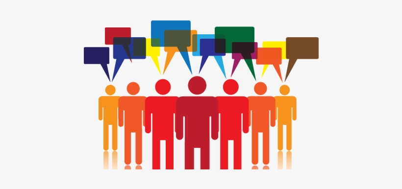 Voice Of The Customer Png - People Talking Png Download - Voice Of The Customer Logo ...