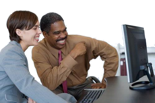 Multiple People Using Computer Png - People Using Computer PNG Transparent People Using Computer.PNG ...