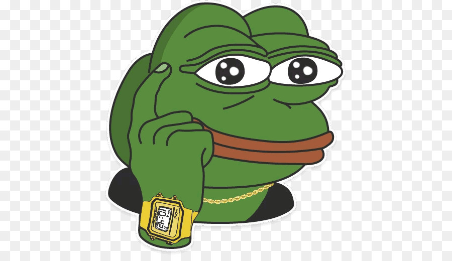 Pepe Frog Png - Pepe the Frog /pol/ Sticker Reddit Emoticon - pepe the frog