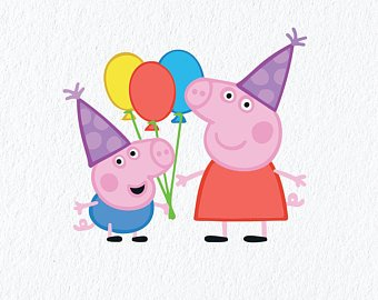 Peppa Pig Birthday Png Free Peppa Pig Birthday Png Transparent