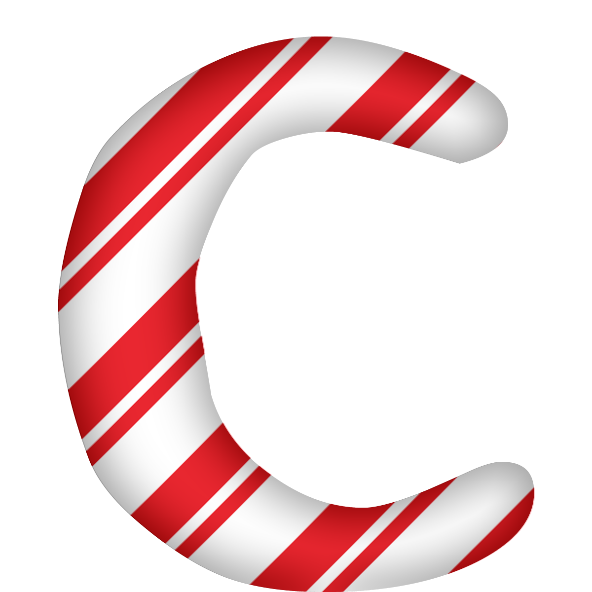 Peppermint Candy Letter C Png  U0026 Free Peppermint Candy