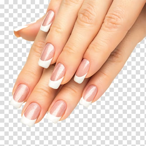 Long French Manicure Png - Person wearing French tip manicure, Nail Polish Manicure Franske ...