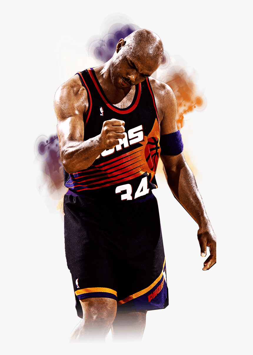 Charles Barkley Png - Phoenix Suns Stitched - Charles Barkley Suns Png, Transparent Png ...