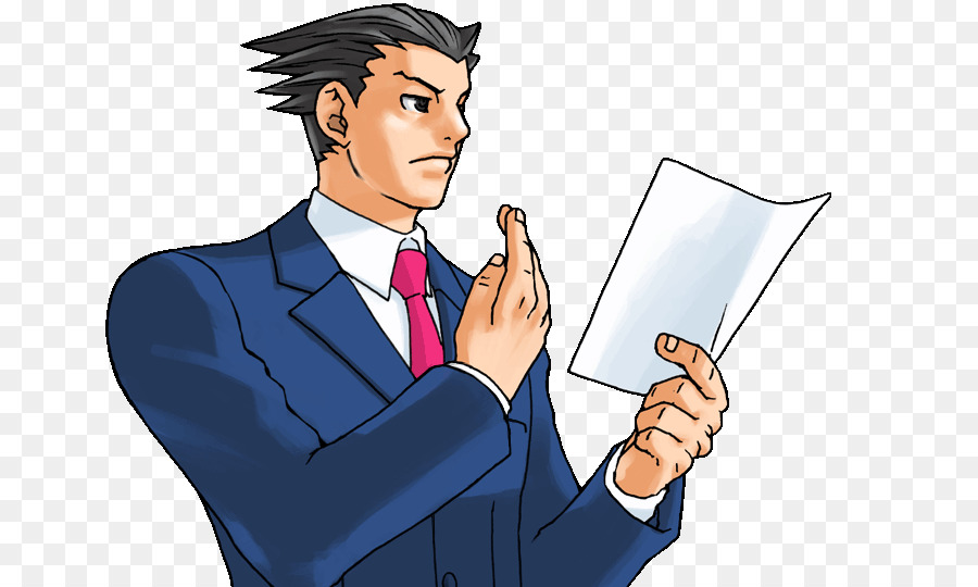 ace attorney objection transparent