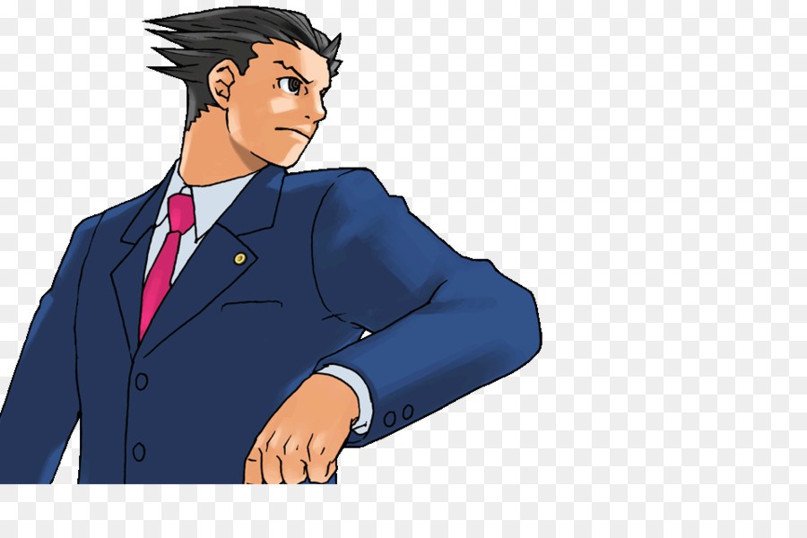 Phoenix Wright Transparent Free Phoenix Wright Transparent Png