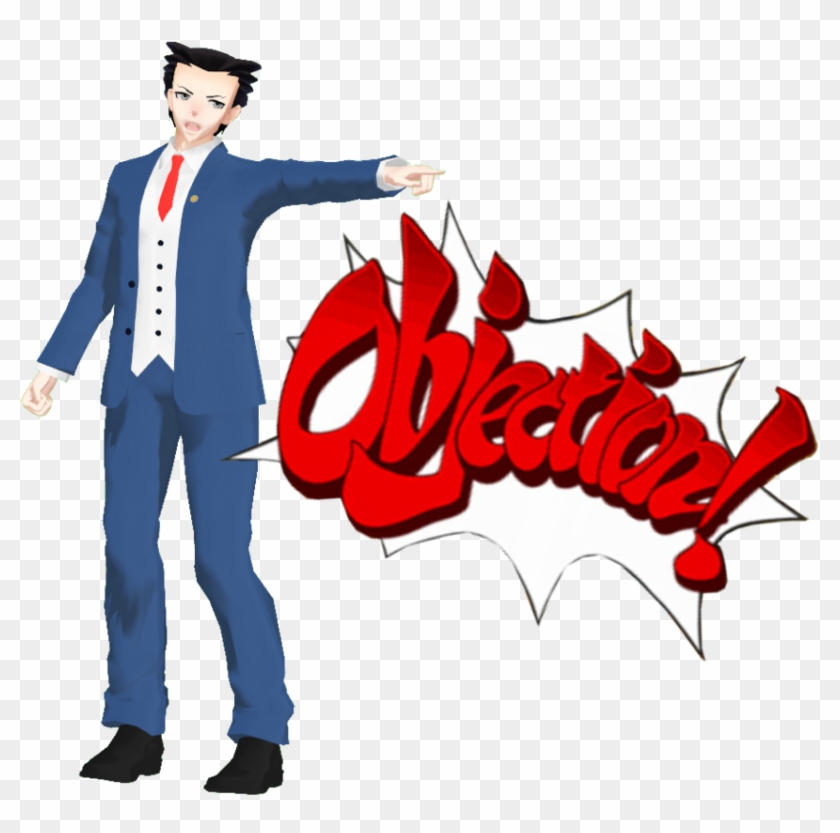 Phoenix Wright Objection Png Great Ace 785374 Png Images Pngio