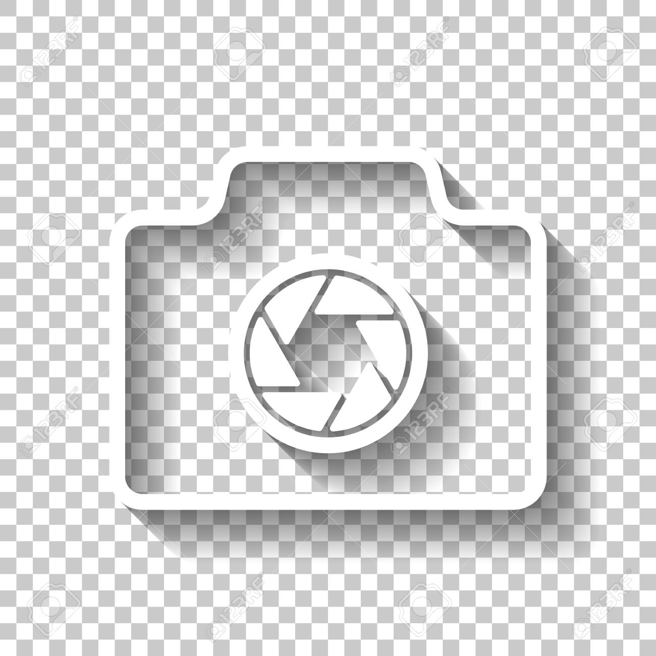 Photo Camera Linear Symbol With Thin Ou 860171 Png Images Pngio