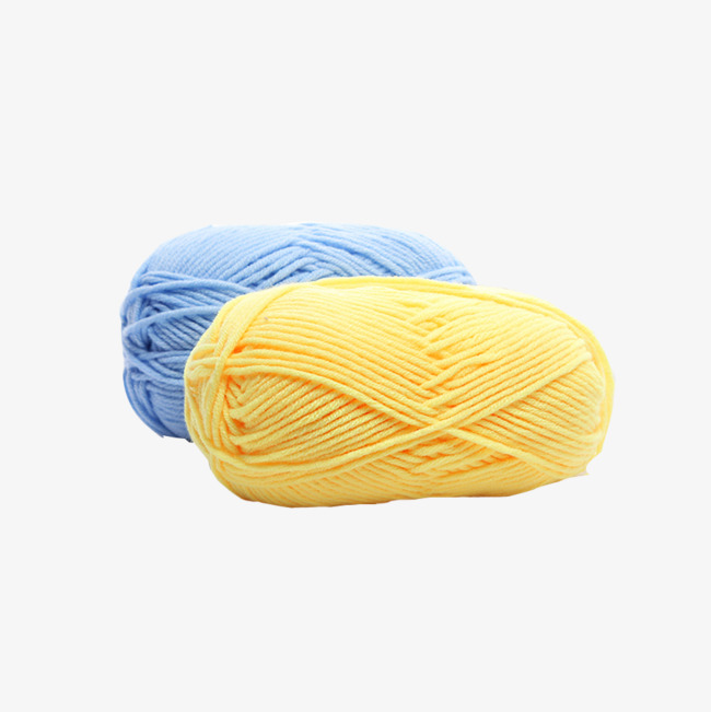 Yellow Yarn Png - physical yellow cotton yarn, Yellow, Blue, Cotton Yarn PNG Image and Clipart