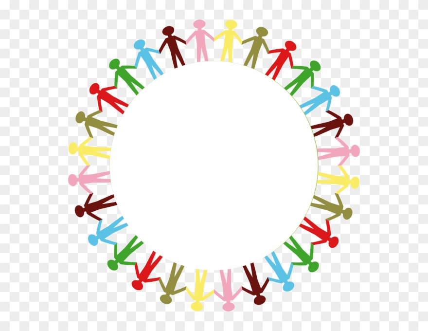 Circle Of People Holding Hands Png - Picture Transparent Free Stick People Clip - Stick Figure Holding ...