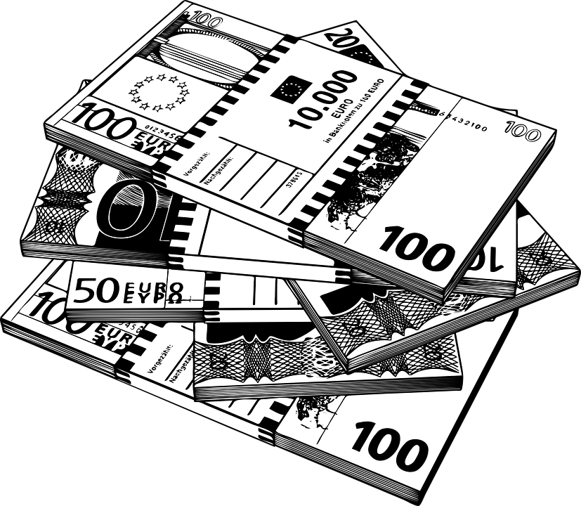 Pile Of Money Png Black And White & Free Pile Of Money ...