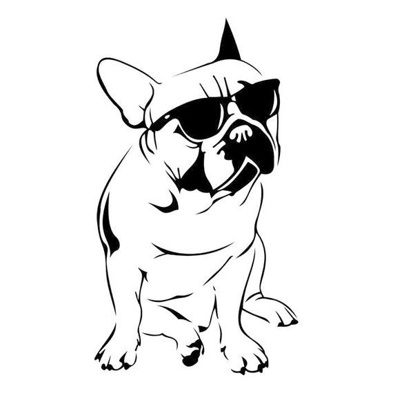 French Bulldog Art Png - Pin by PNGio on Products | French bulldog drawing, French bulldog ...