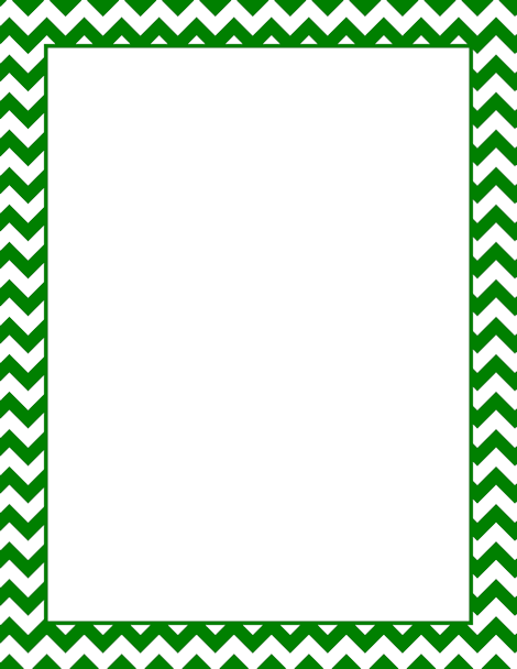Green Chevron Png - Pin by Muse Printables on Page Borders and Border Clip Art ...