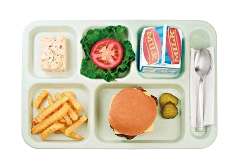 School Lunch Tray Png - Pin by Tristan Wyatt K on transparent-images.png   Cafeteria food ...