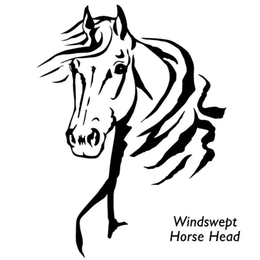 Horse Head Clipart - Pin on Patterns