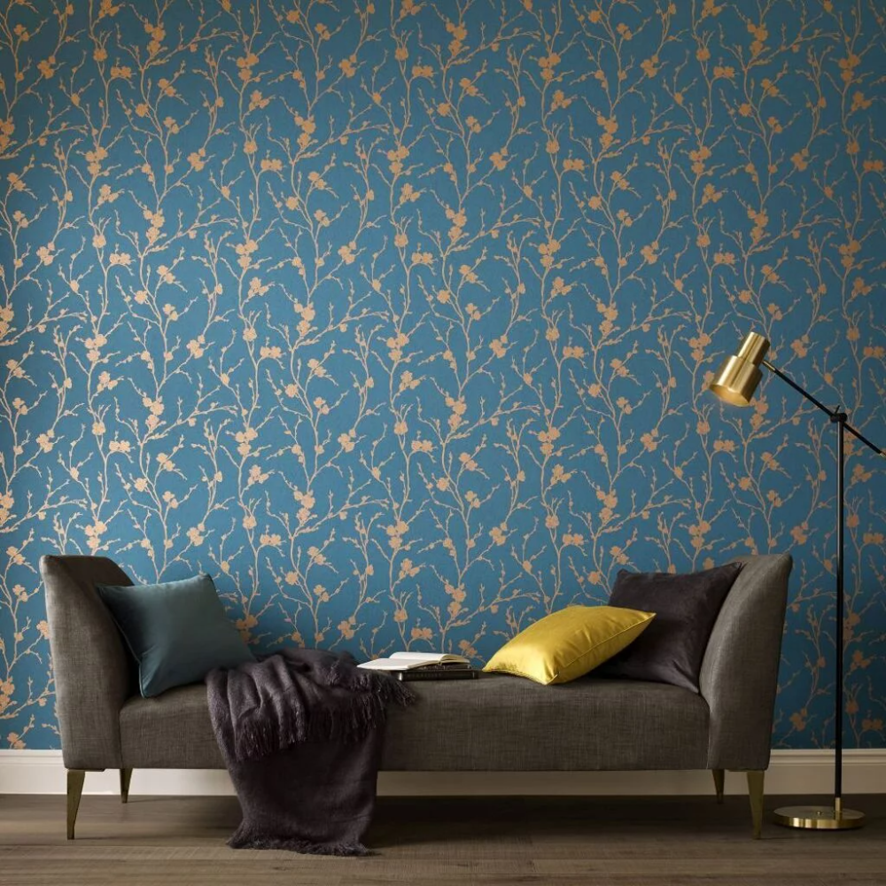 Graham  Brown Cherry Blossom Wallpaper Png - Pin on The Bachelorette Pad