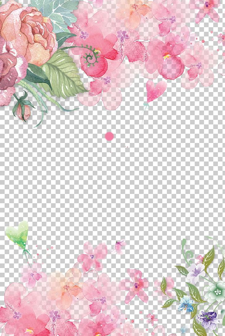 Background Pink Png - Pink Flowers Paper Pink Flowers Rose PNG, Clipart, Background ...