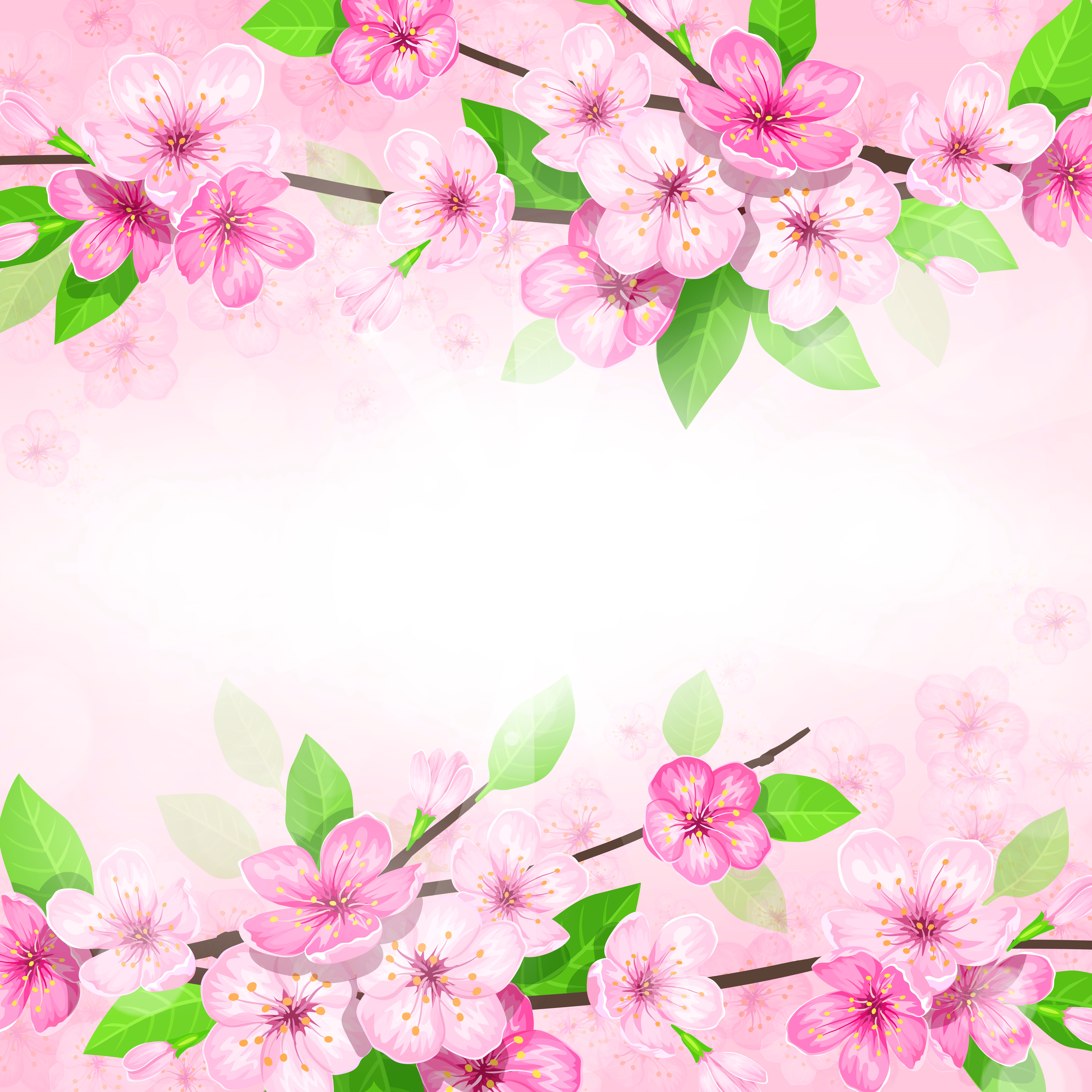 Background Spring Png - Pink Spring Background | Gallery Yopriceville - High-Quality ...
