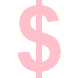 Pink Us Dollar Icon Free Pink Currency Png Images Pngio