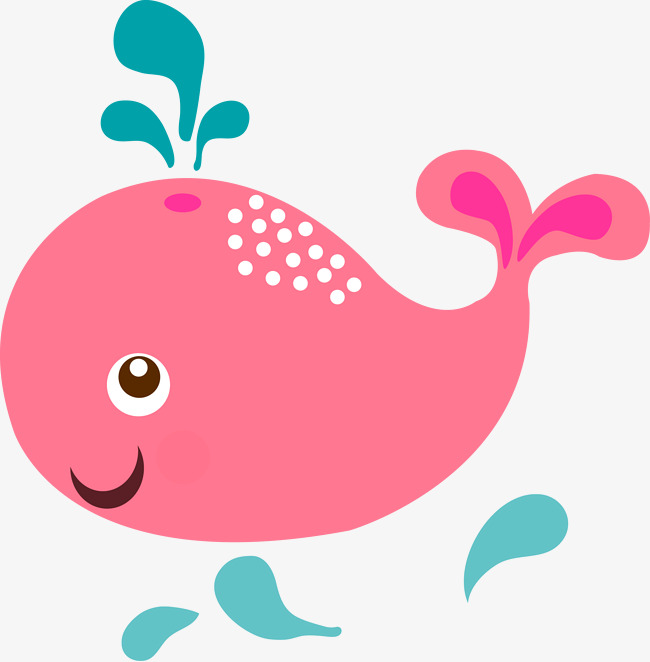 Pink Whale Png - pink whale cartoon vector, Whale Vector, Cartoon Vector, Pink Whale PNG and  Vector