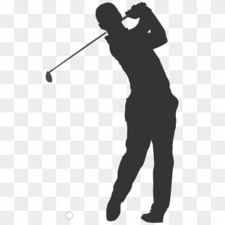 Pitch And Putt Png - Pitch And Putt , Png Download - Golfer Celebrating Silhouette ...