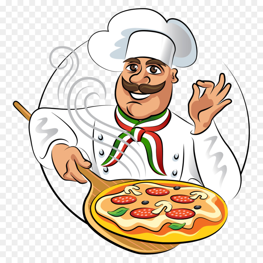 Cooking Png - Pizza Chef Buffet Cooking - Vector Chef