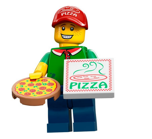 Delivery Guy Png - Pizza Delivery Guy | Brickipedia | Fandom