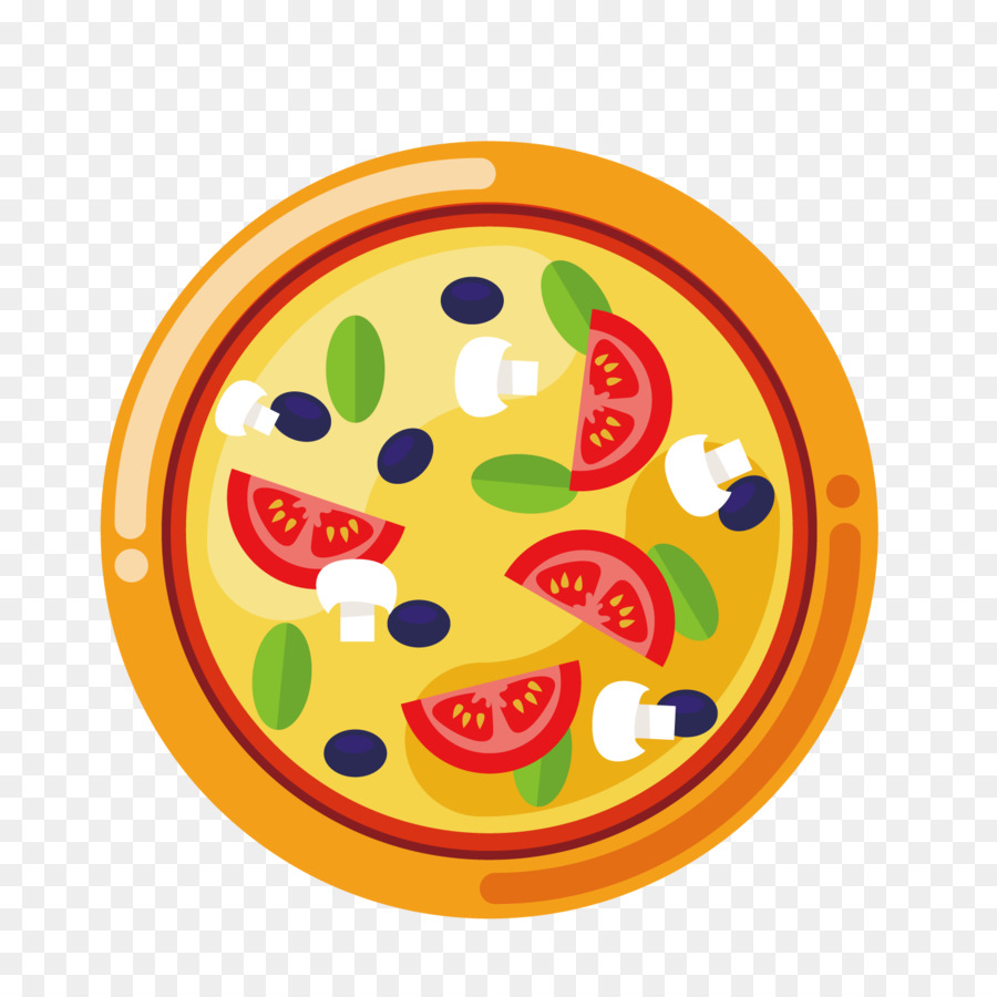 Pizza Vector Png - Pizza delivery Italian cuisine - Pizza vector png download - 1500 ...