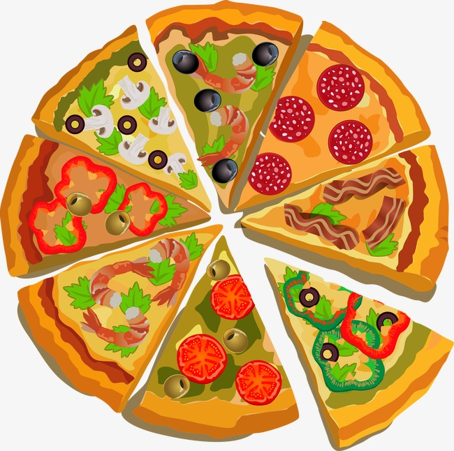 Pizza Vector Png - Pizza Png Vector & Free Pizza Vector.png Transparent Images #6781 ...