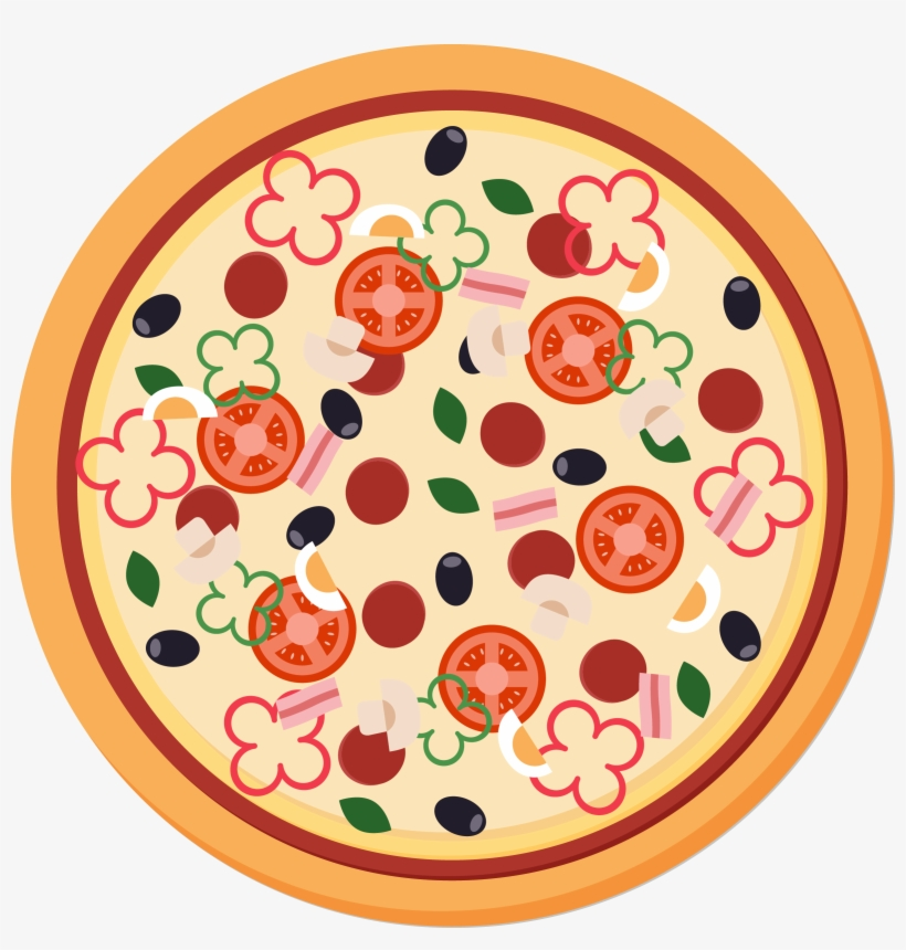 Pizza Vector Png - Pizza Take - Pizza Vector - Free Transparent PNG Download - PNGkey