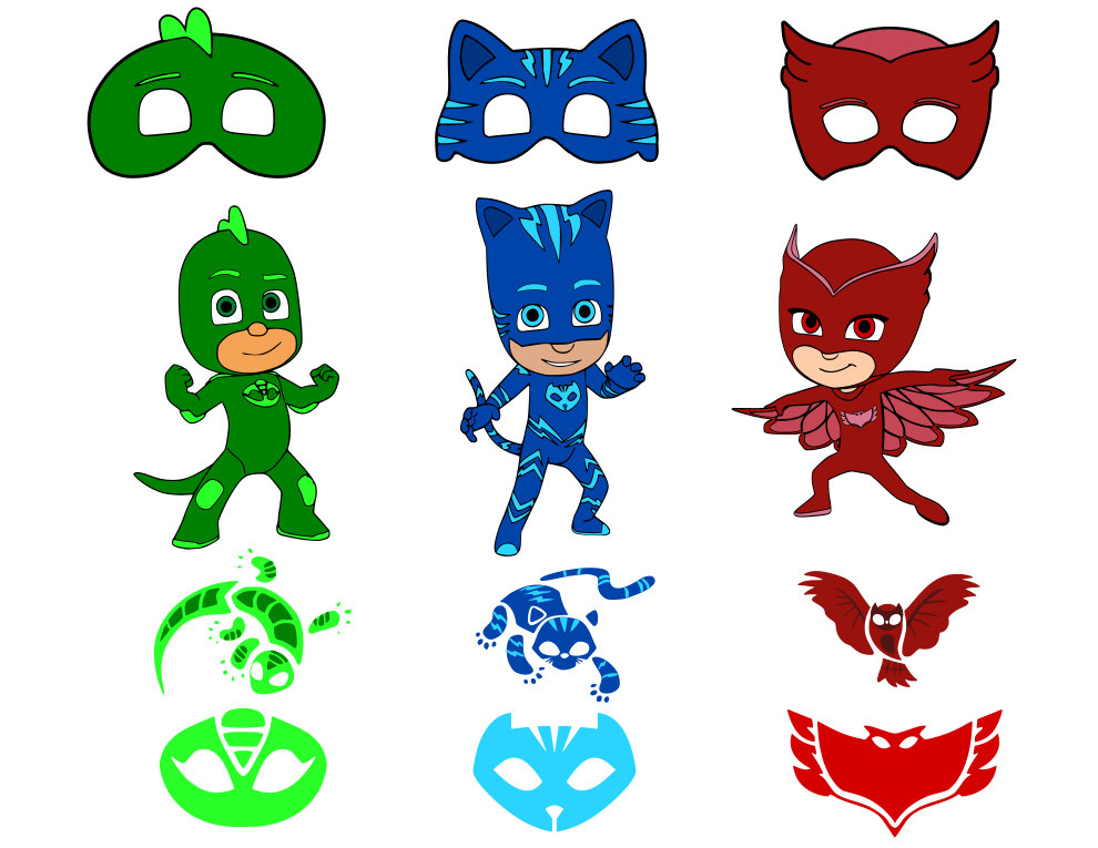 Pj Mask Vector Free Pj Mask Vector Png Transparent Images 48211 Pngio