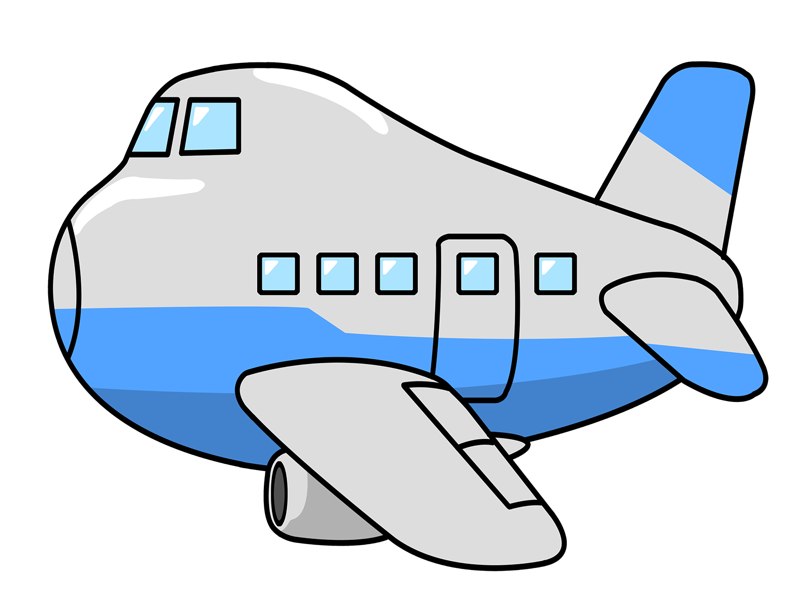 Free Giraffe In Plane Png - Plane clip art transparent library - RR collections