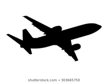 Plane Silhouette Free Plane Silhouette Png Transparent Images 50866 Pngio