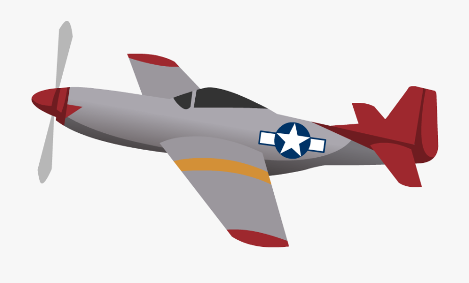 Tuskegee Airmen Png - Plane Silhouette Png Clip Art Png M - Tuskegee Airmen Plane ...
