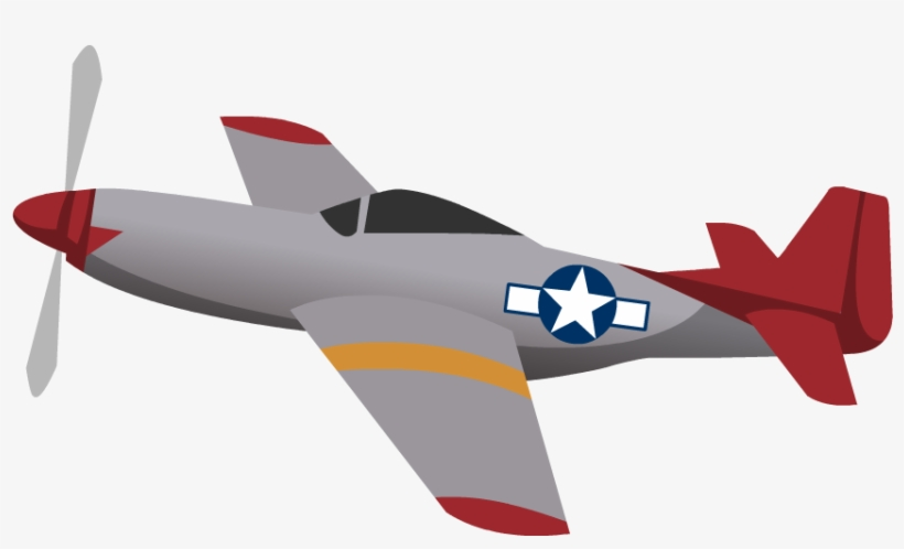 Tuskegee Airmen Png - Plane Silhouette Png Clip Art Png M - Tuskegee Airmen Planes ...