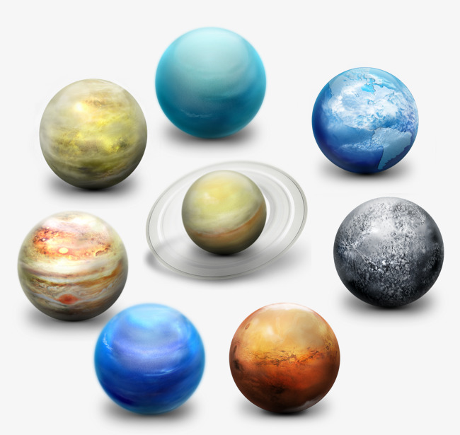 Solar System Png - planets png icon, Solar System, Planet, Png Icon PNG and PSD
