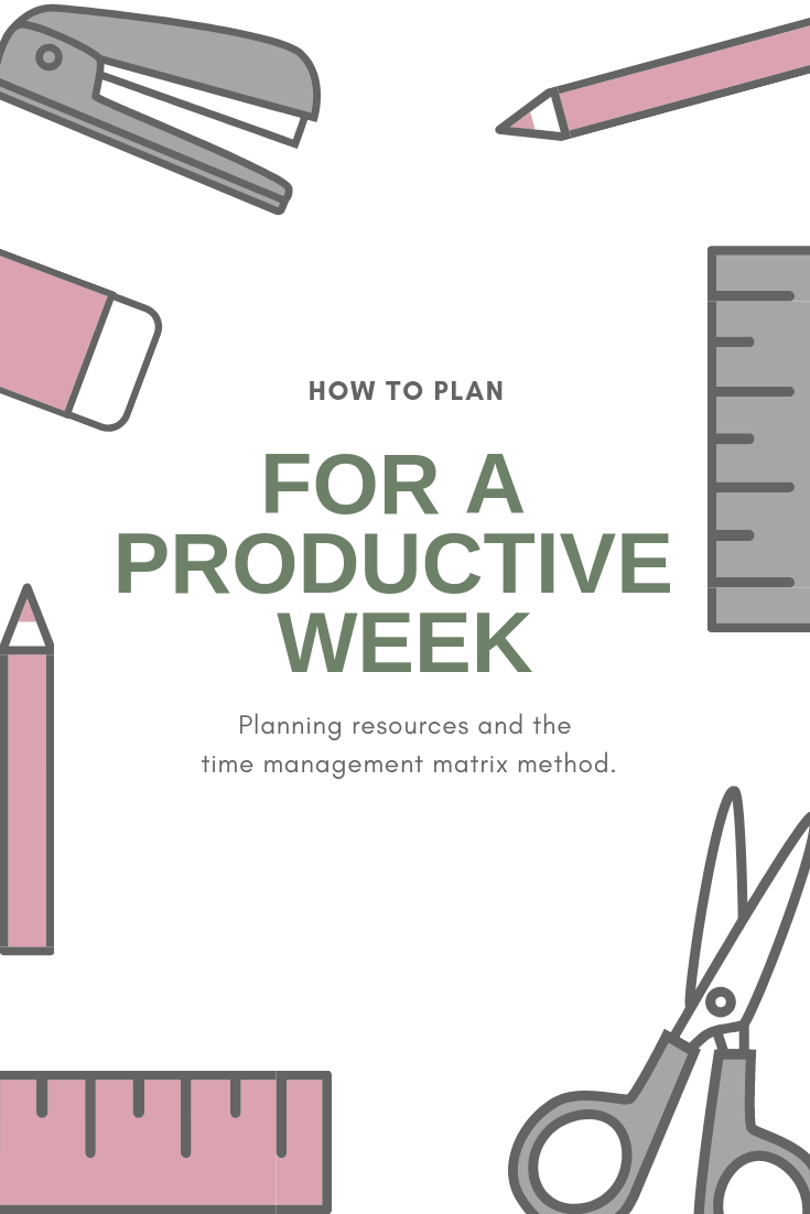 Have A Productive Week Png - Planning For A Productive Week — Million Dollar Habit