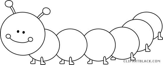 Black And White Caterpillar Png Transparent Images 8215 Pngio
