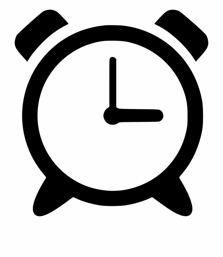 Clock İcon Png - Png File Svg - Alarm Clock Icon Png, Transparent Png Download For ...