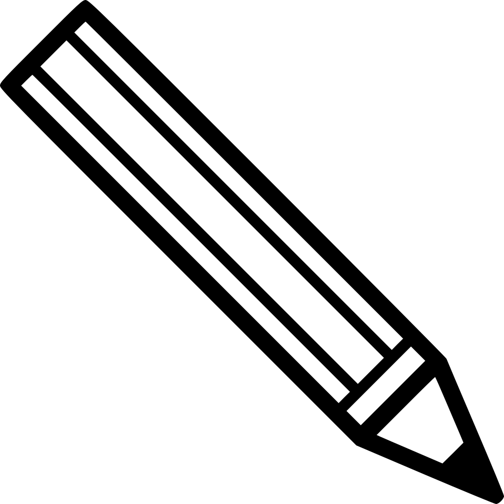 Black And White Png Of Pencil & Free Black And White Of ...