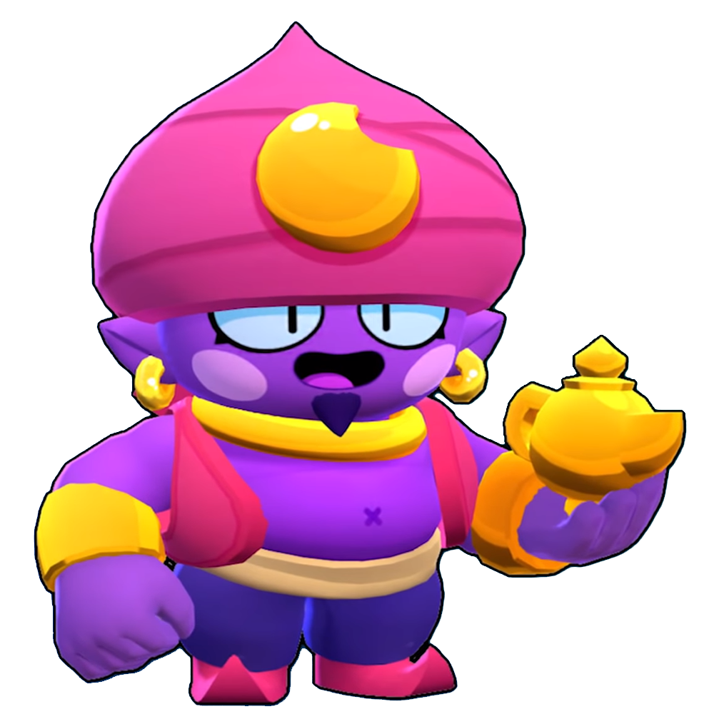 Brawl Stars Png - PNG of Gene in case anyone was in need of one. : Brawlstars
