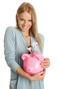 Png Woman With Cash - PNG Of Woman Saving Money Transparent Of Woman Saving Money.PNG ...