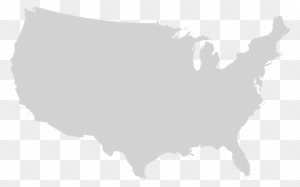 United States Outline Png Black And White & Free United States ...