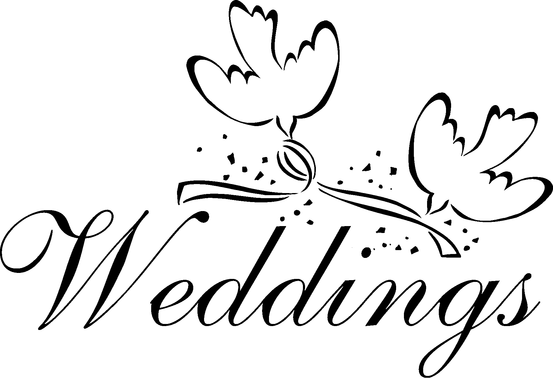 Weddings Png - Png Wedding Clipart - Clip Art Library