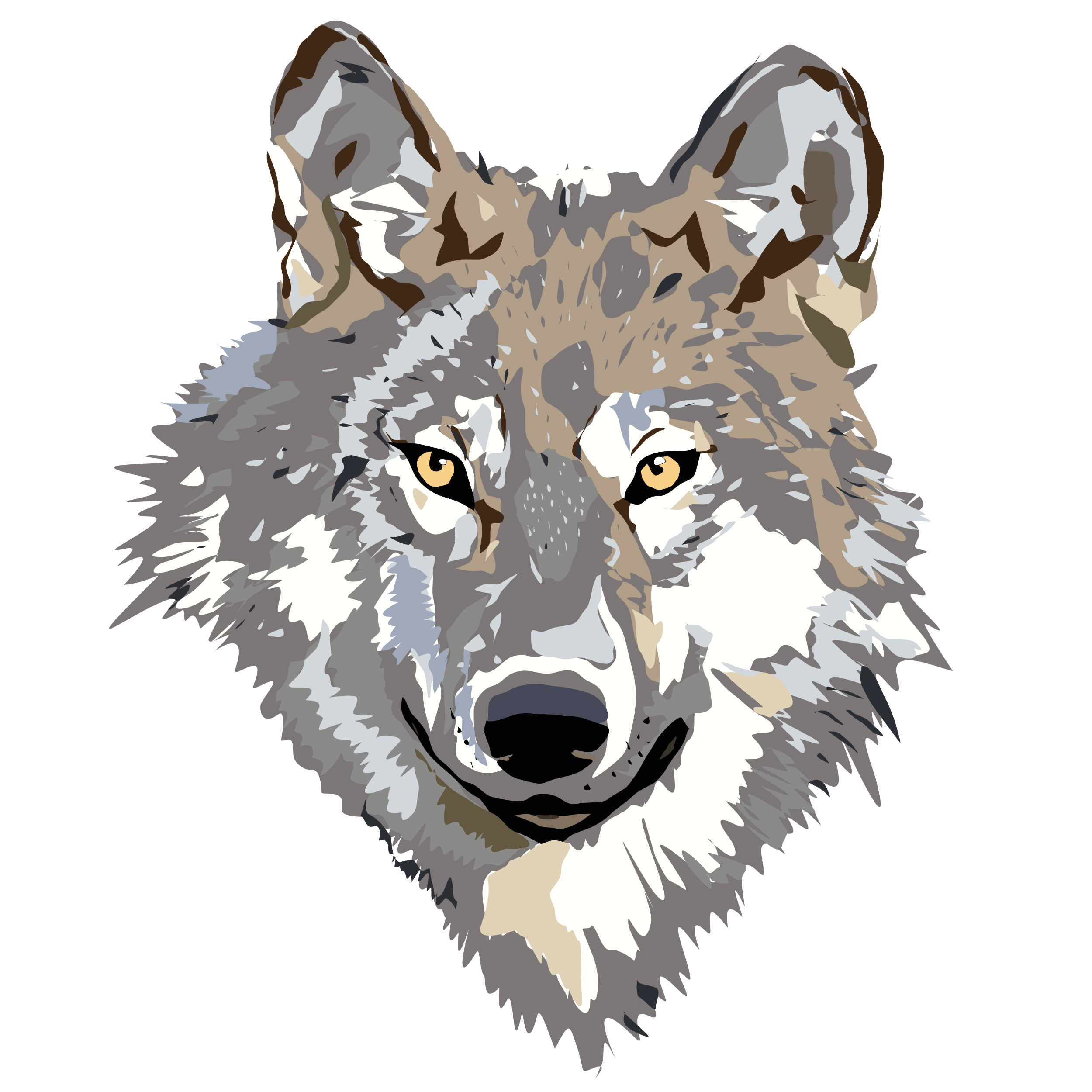 Png Wolf Head - PNG Wolf Head Transparent Wolf Head.PNG Images.   PlusPNG