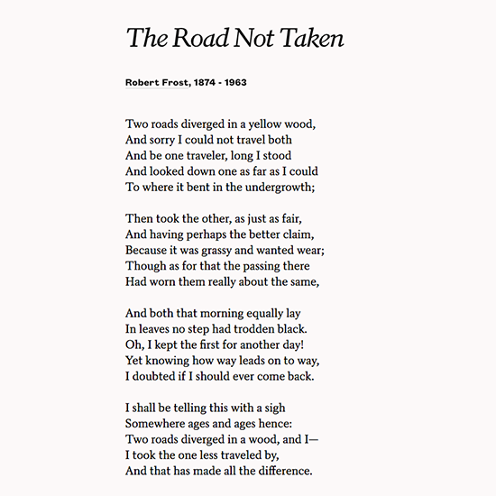 """Road Diverging Image Black And White Png - Poets.org on Twitter: """"I shall be telling this with a sigh ..."""