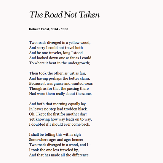 """Road Diverging Image Black And White Png - Poets.org on Twitter: """"Two roads diverged in a yellow wood —Robert ..."""